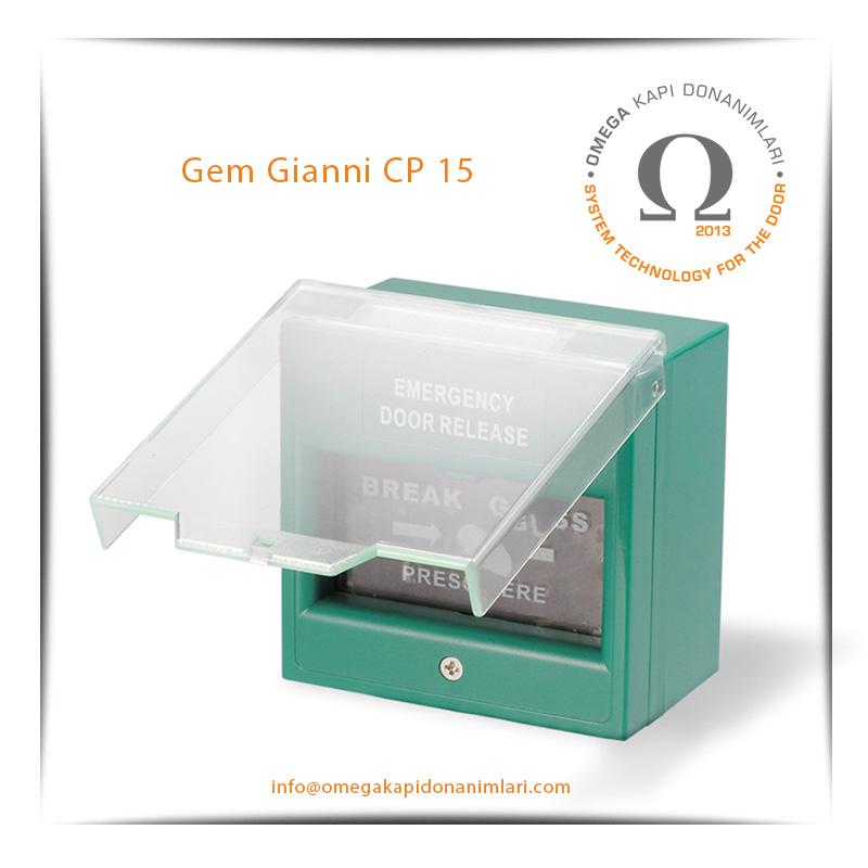Gem Gianni CP 15 Acil Çıkış Butonu