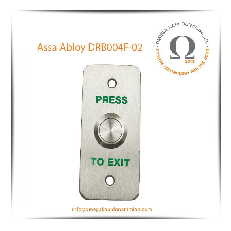 Assa Abloy DRB004F 02 Paslanmaz Çıkış Butonu Gömme Tip
