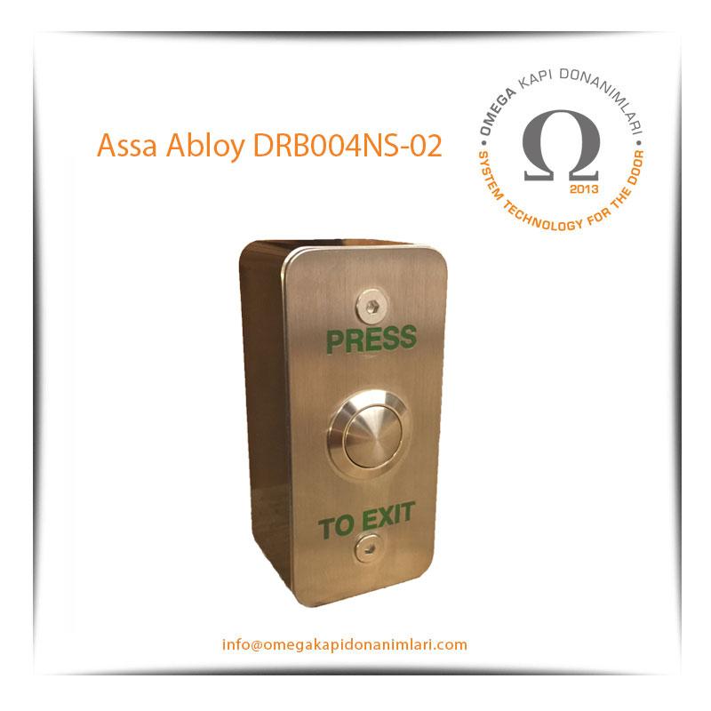 Assa Abloy DRB004 NS 02 Paslanmaz Çıkış Butonu Yüzey Tip