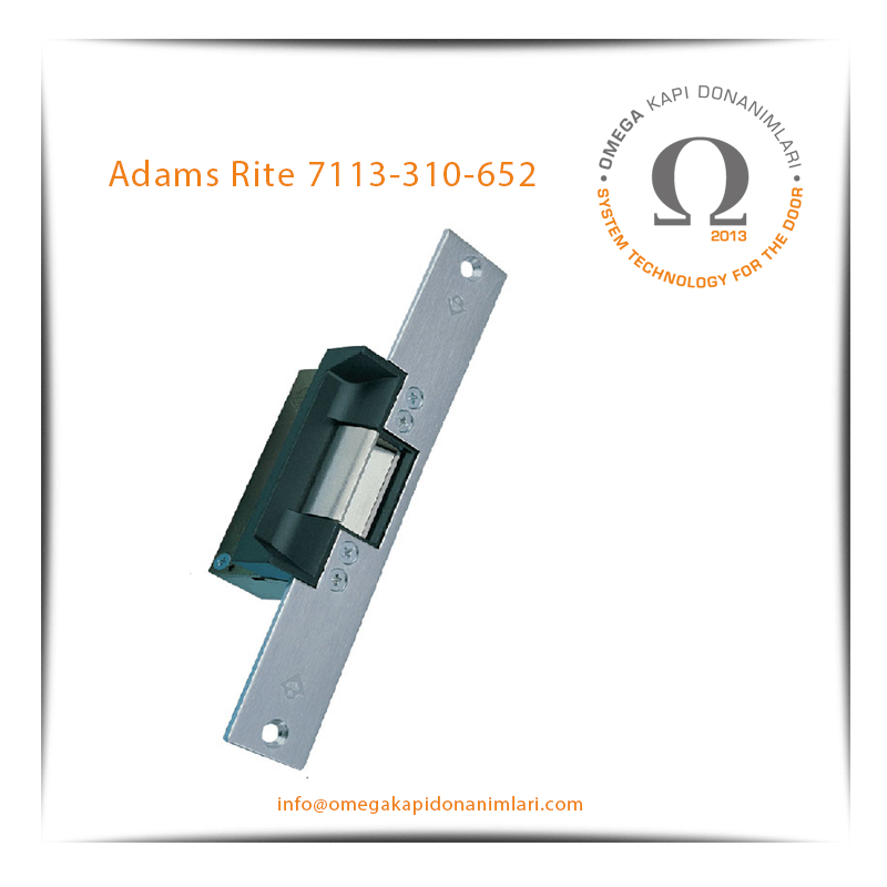 Adams Rite 7113-310-652 Elektrikli Kilit Karşılığı Bas Aç