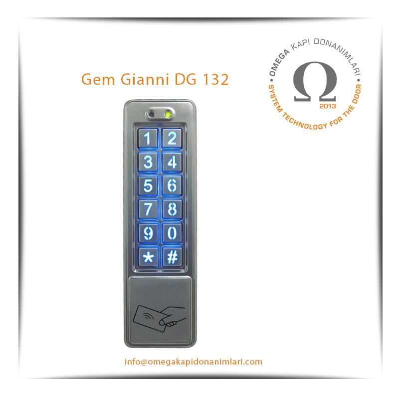 Gem Gianni DG 132 Geçiş Kontrol Sistemi