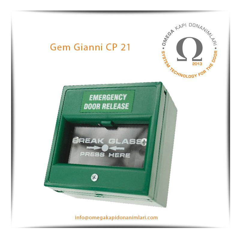 Gem Gianni CP 21 Acil Çıkış Butonu