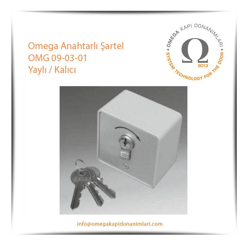 Omega Anahtarlı Şartel OMG 09-03-01 Yaylı / Kalıcı