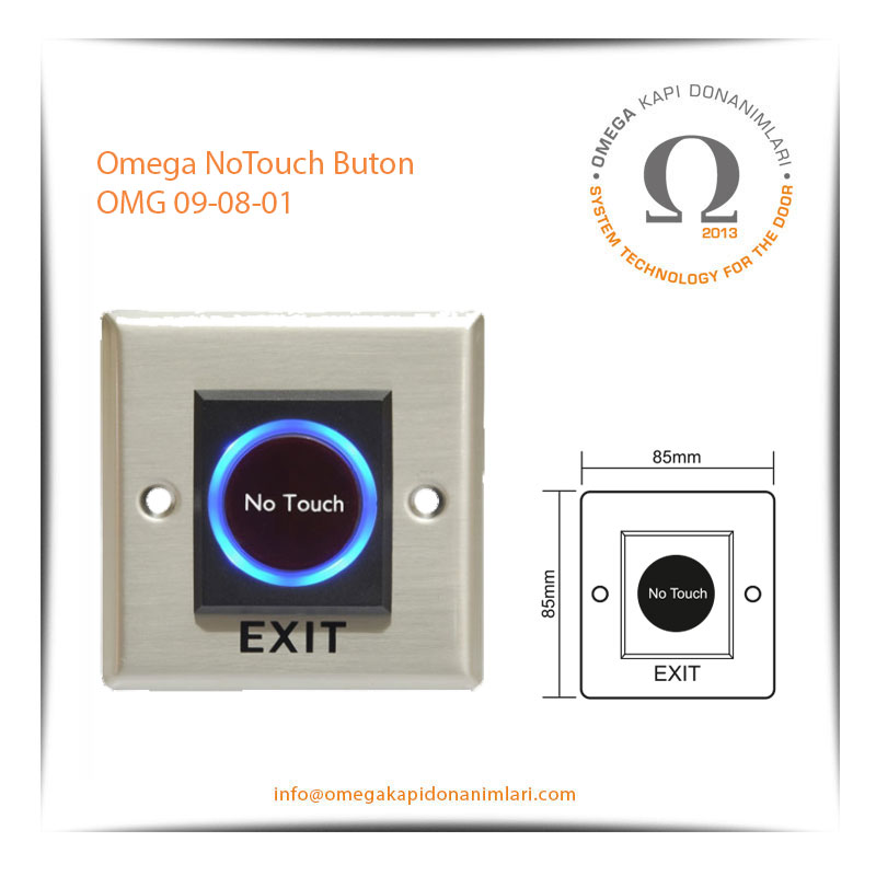 Omega NoTouch Buton OMG 09-08-01