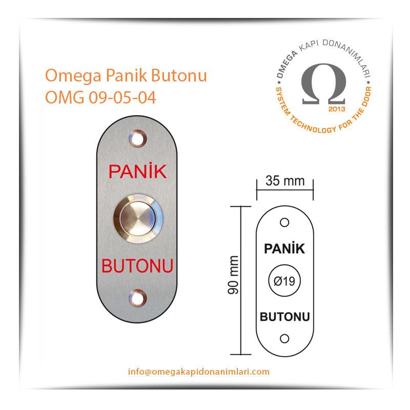 Omega Panik Butonu OMG 09-05-04