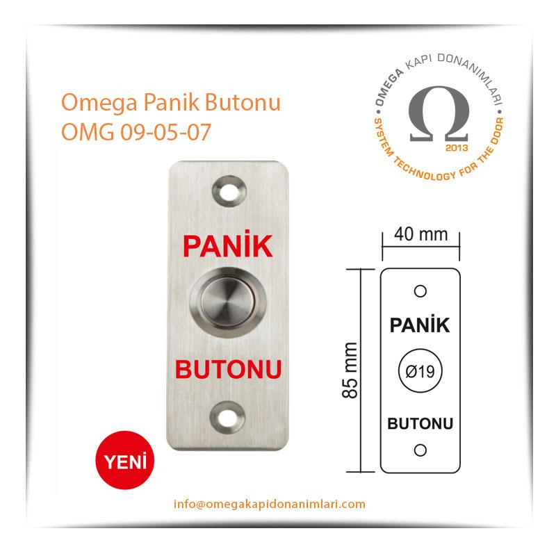 Omega Panik Butonu OMG 09-05-07
