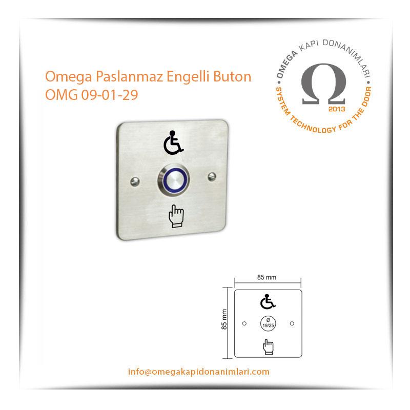 Omega Paslanmaz Engelli Buton OMG 09-01-29