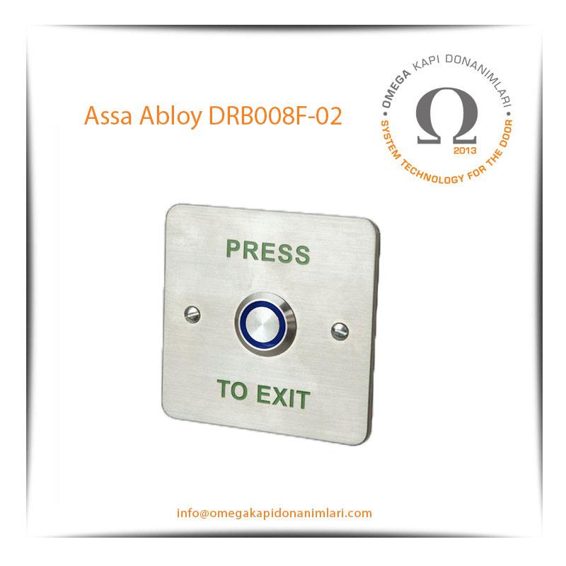 Assa Abloy DRB008F 02 Paslanmaz Çıkış Butonu Gömme Tip