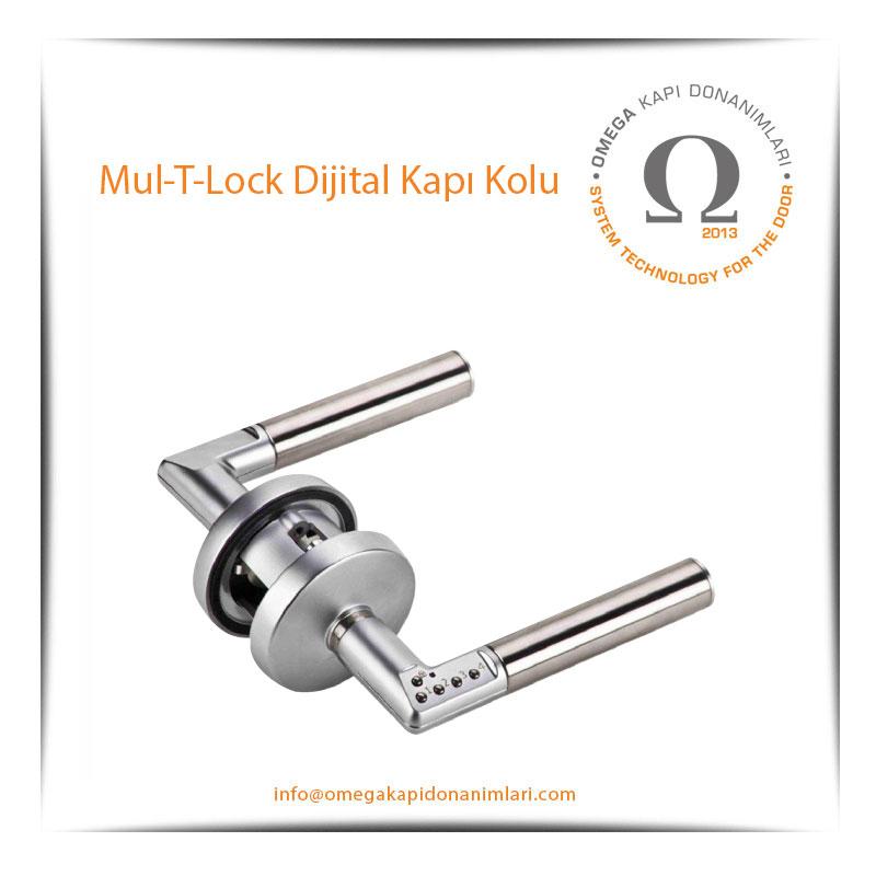 Mul-T-Lock Dijital Kapı Kolu
