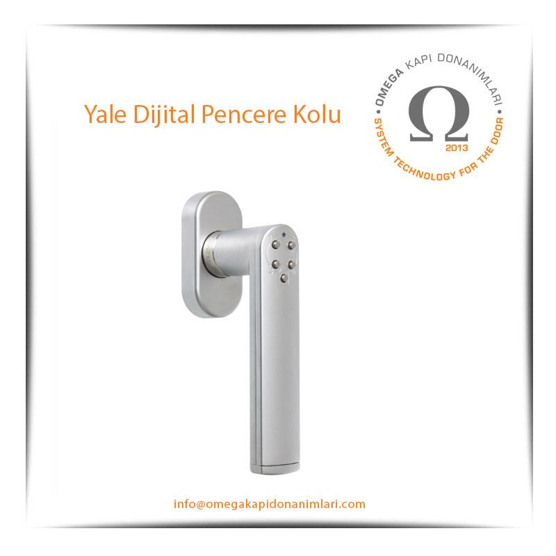 Yale Dijital Pencere Kolu