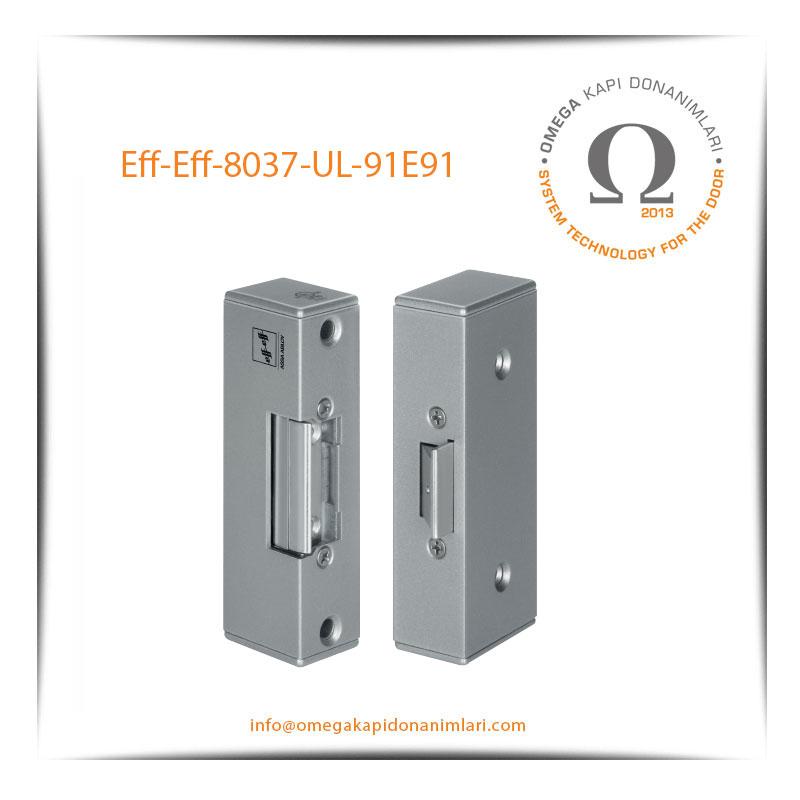 Eff- Eff 8037 UL 91E91 Elektrikli Kilit Karşılığı Bas Aç