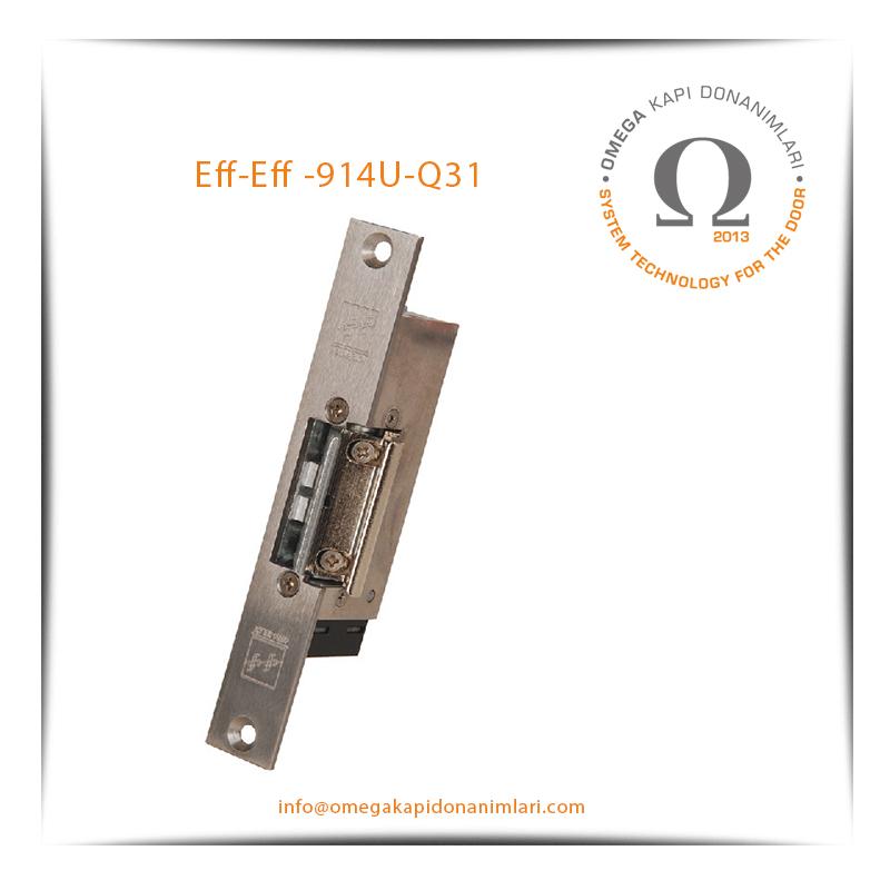 Eff- Eff 914U-Q31 Elektrikli Kilit Karşılığı Bas Aç