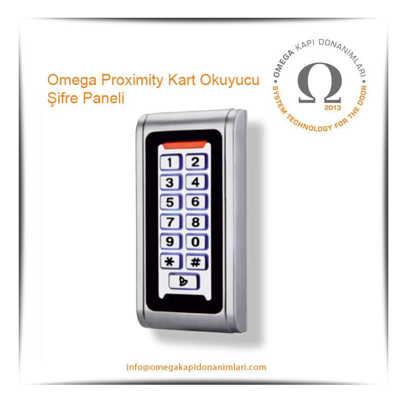 Omega Proximity Kart Okuyucu  Şifre Paneli