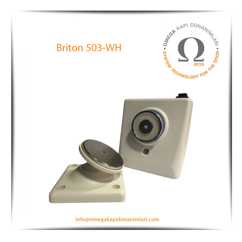 Briton 503 WH Manyetik Kapı Tutucu