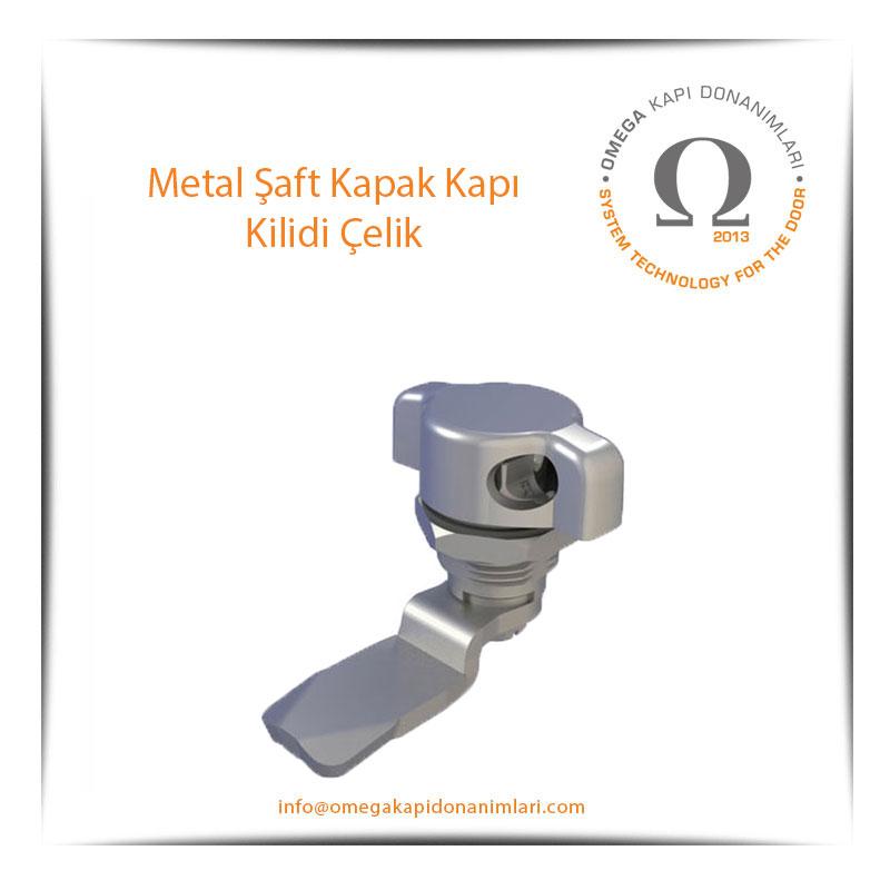 Metal Şaft Kapak Kapı Kilidi Çelik