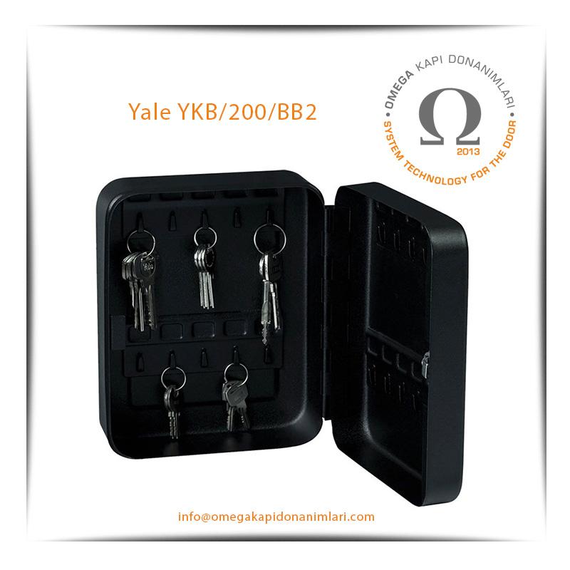 Yale Anahtar Dolabı Küçük Boy YKB/200/BB2