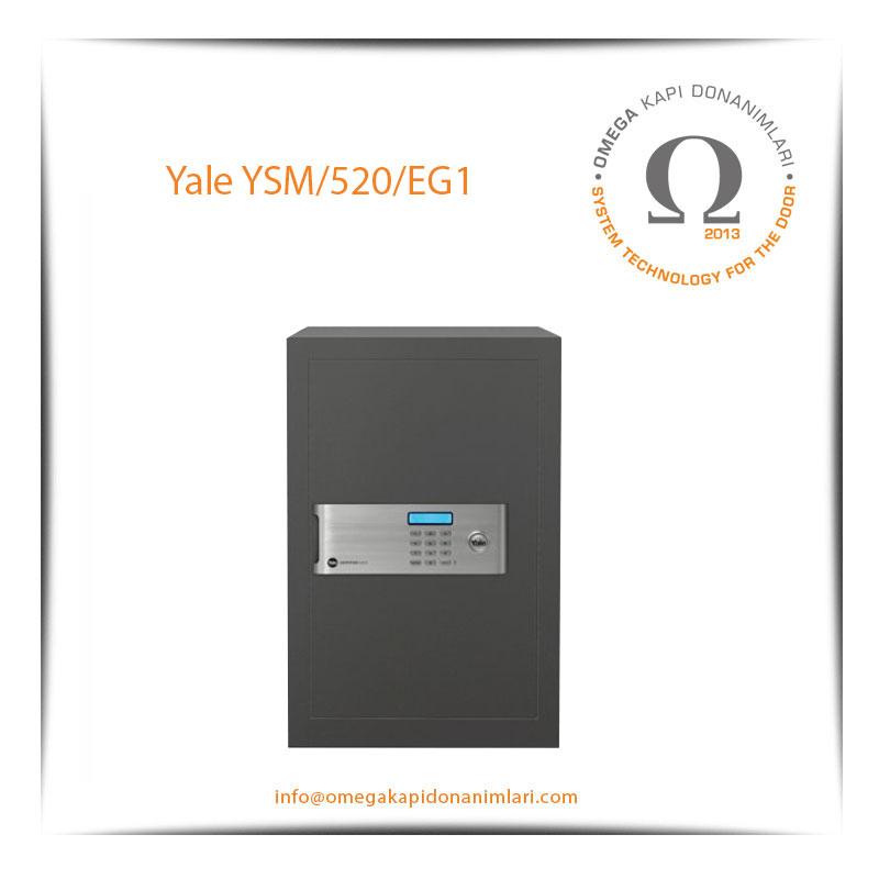 Yale Güvenlik Sertifikalı Motorlu Kasa Profesyonel Tip YSM 520 EG1