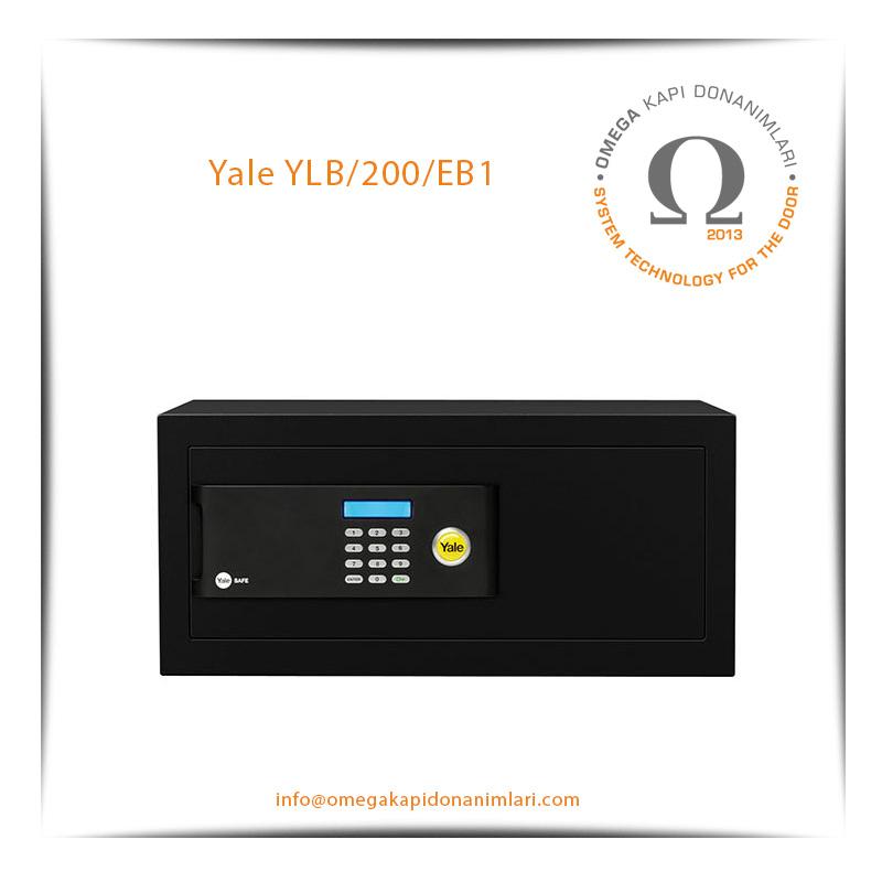 Yale Motorlu Kasa Siyah Laptop YLB/200/EB1