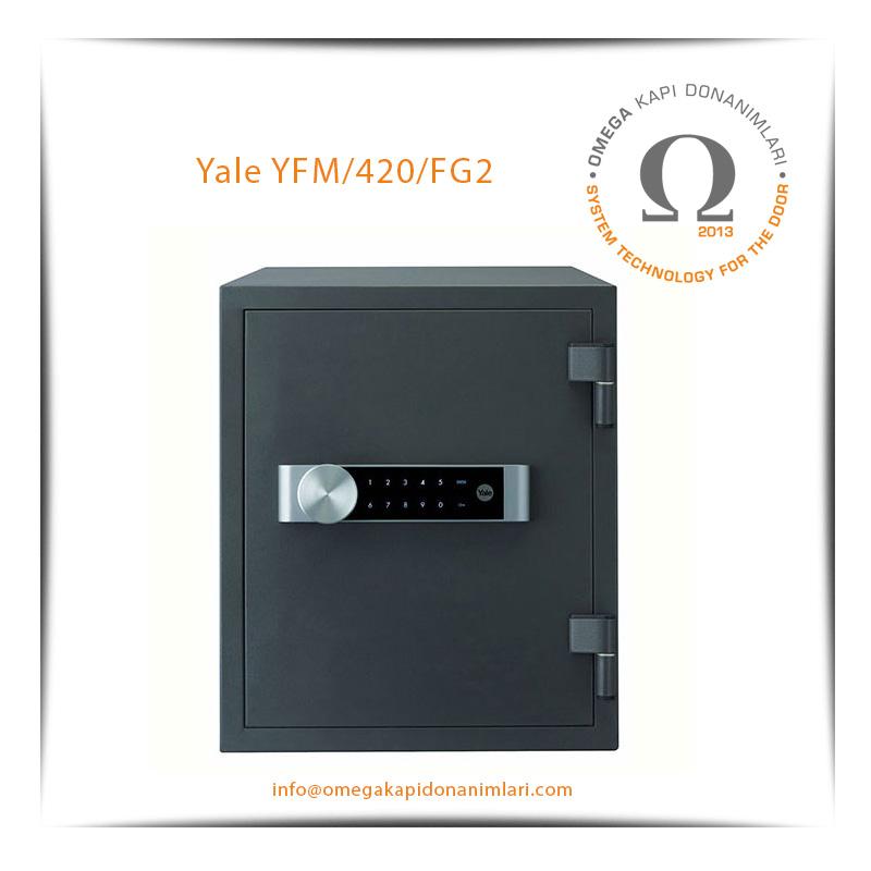 Yale Yangın Sertifikalı Kasa Büyük Boy YFM/420/FG2